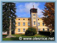 Olešnice v Orlických horách - Zrekonstruovaná radnice