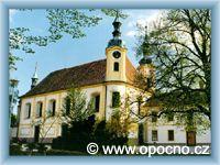 Opočno - Děkanský kostel Nejsvětější Trojice