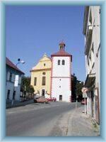Kostel v Dobrušce