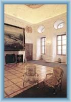 Interiér zámku v Náchodě