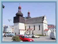 Kostel v Náchodě