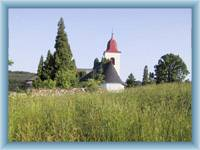 Kostelík v Olešnici