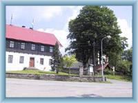 Střed obce Říčky
