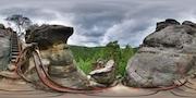 Teplice nad Metují - Schody na vyhlídku Střemen