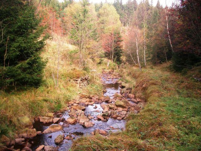 Chomutovka v Bezručově údolí