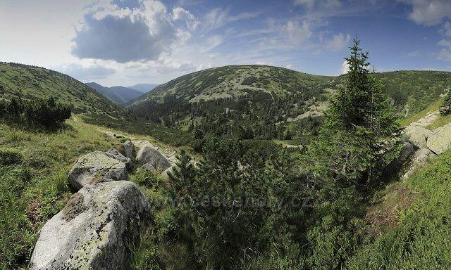 Krkonoše, údolí Bílého Labe