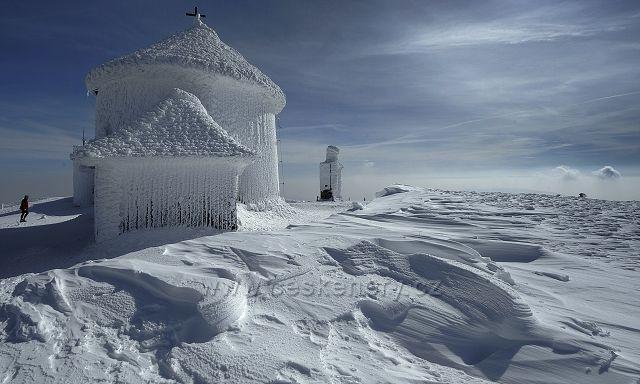 Krkonoše, Sněžka, kaple Sv. Vavřince