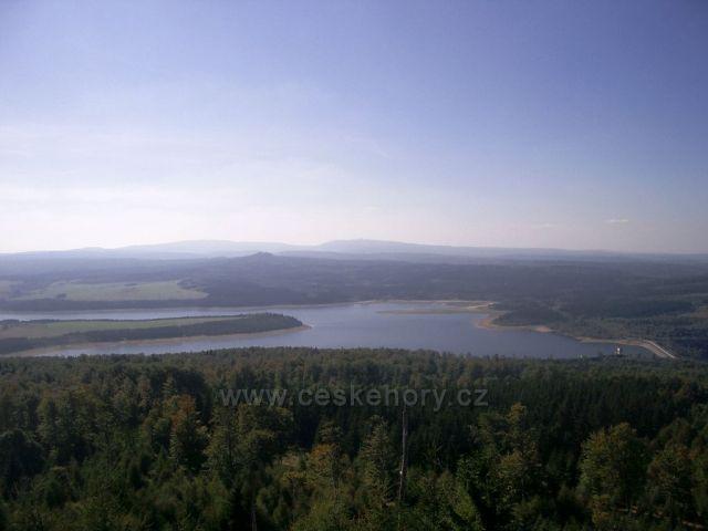 Jelení hora vrchol - Přísečnice přehrada