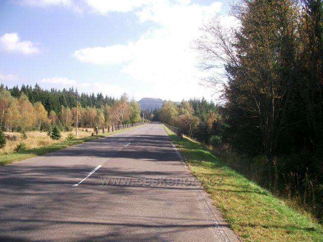 silnička na Přísečnici - Kryštofovy Hamry