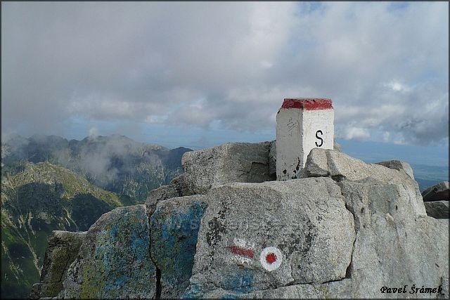 Rysy 2499 m.n.m - vrchol