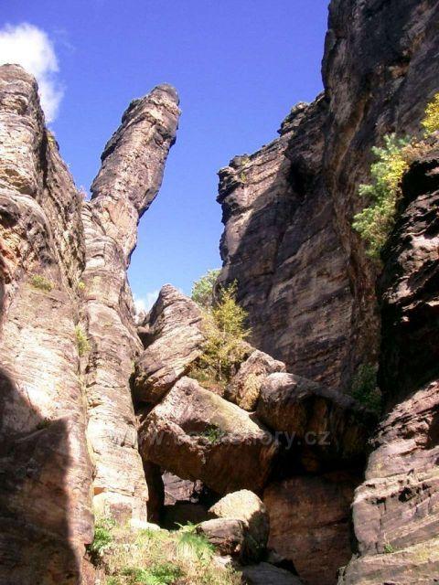 skalní město Bieletal