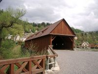 Radošovský celodřevěnný most