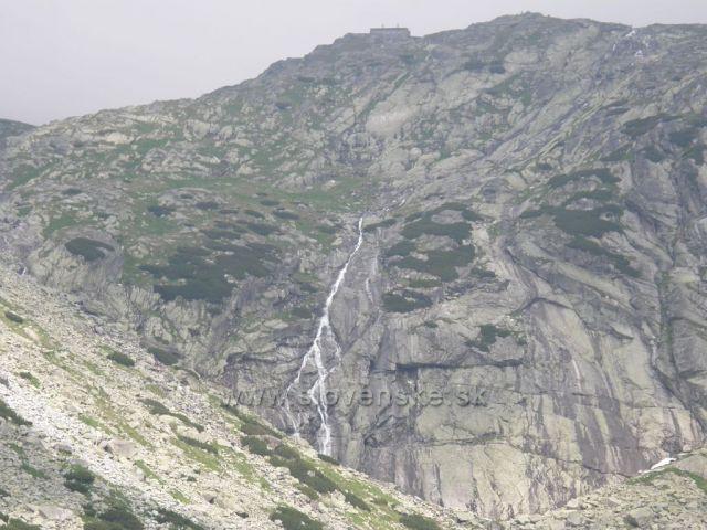 vodopád pod Téryho chatou-Vysoké Tatry