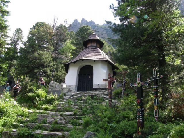 Cintorín na Popradskom plese-Vysoké Tatry