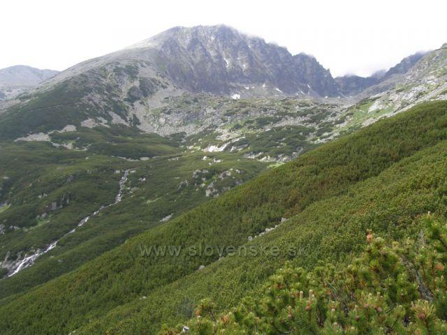 Batizovské vodopády pod Batizovským plesem-Vysoké Tatry