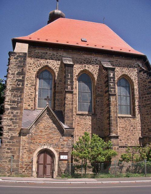 kostel Sv.Barbory Chomutov - Horní Ves