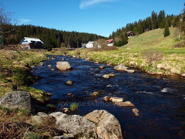 Šumava - Roklanský potok na Modravě