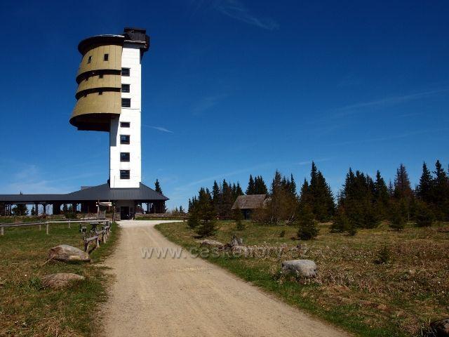 Šumava - Rozhledna Poledník (1315 m.n.m.)