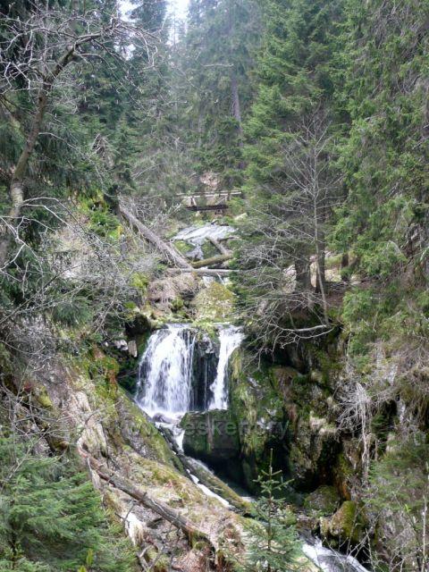 divoká krása vodopádů Bílé Opavy