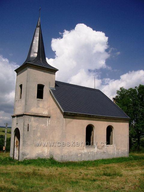 kostelík v Kotlině
