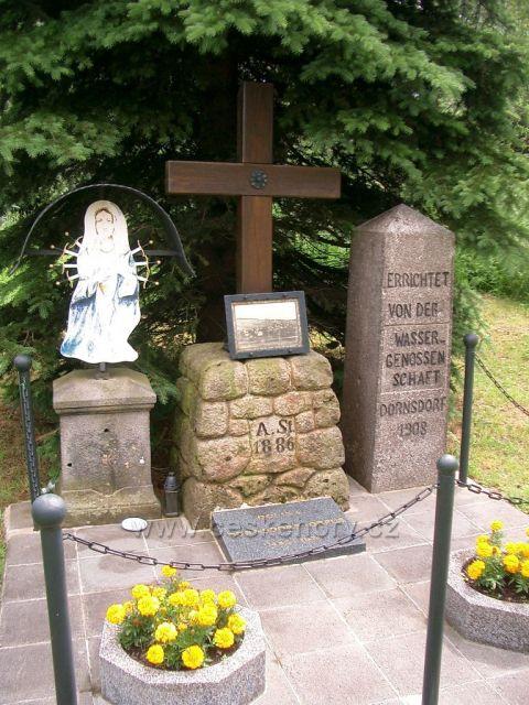 pomník zaniklé obci