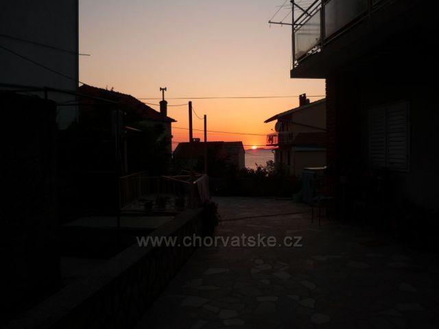 Západ slunka v Primoštenu