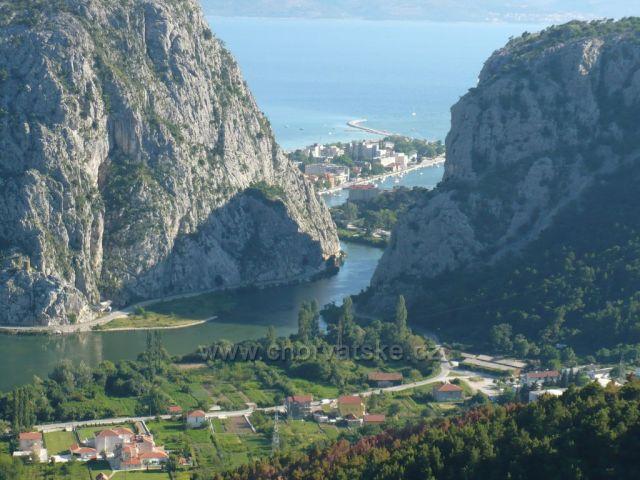 nadhled,Omiš-řeka Cetina