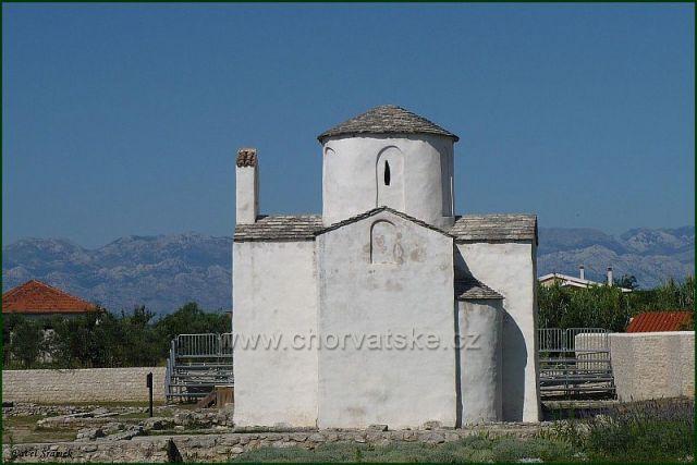"""Kostel sv.Kříže v Ninu nese označení """"nejmenší katedrály Evropy"""""""