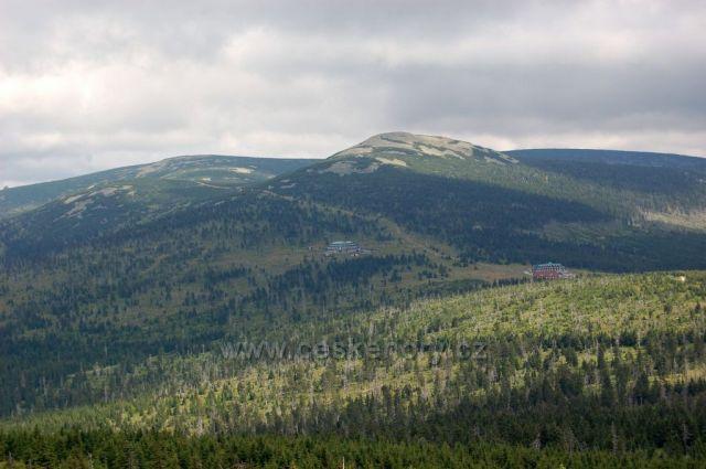 Pohled na Špindlerovku