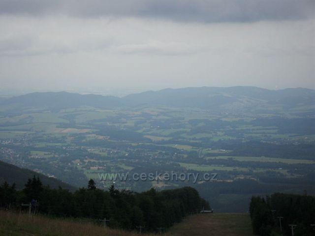 Pohled z Radhoště