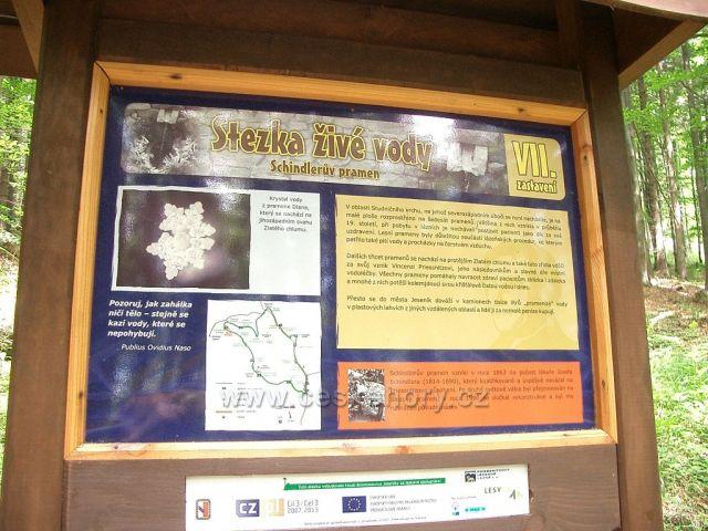 Léčivé prameny nad Jeseníkem - Stezka živé vody