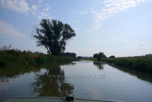 Baťův kanál u Vnorov