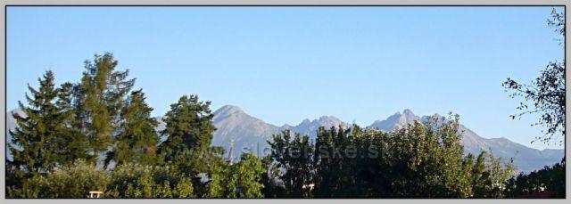 Vysoké Tatry od Popradu
