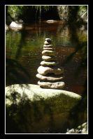Kameny na řece Vydře