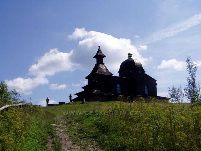 Kaplička na vrcholu