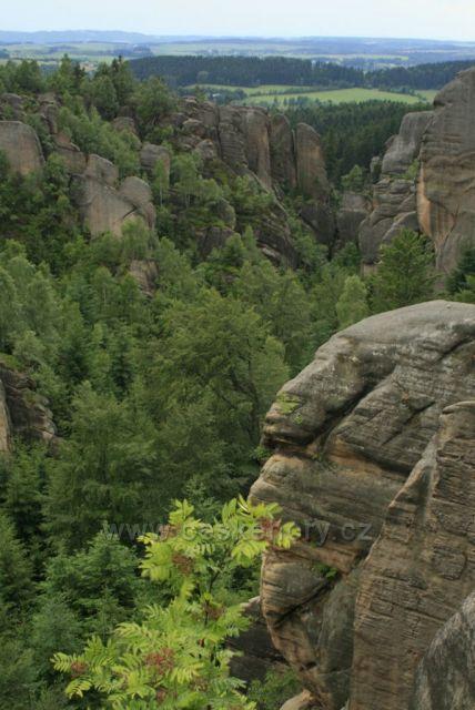 Broumovské stěny- skalní divadlo
