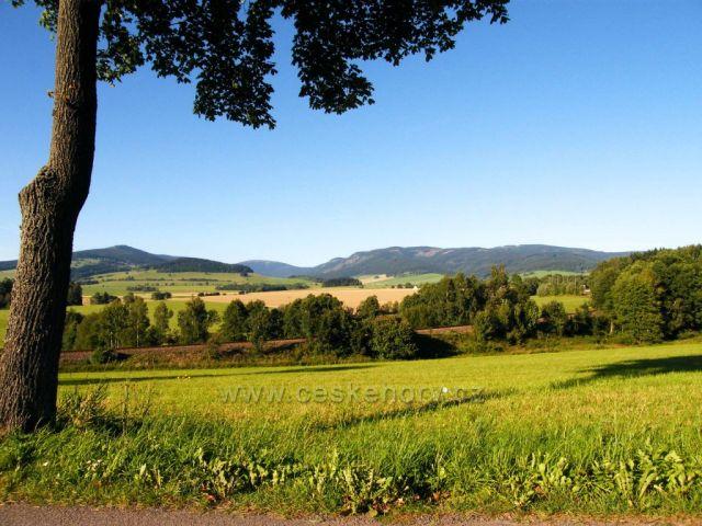 Kralický masiv z Horní Moravy