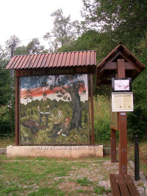pomník Stülpnera kryštofovy Hamry