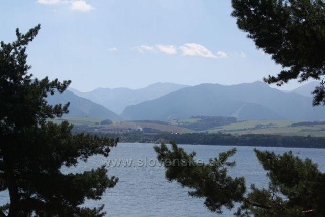 Nízké Tatry od Liptovské Mary
