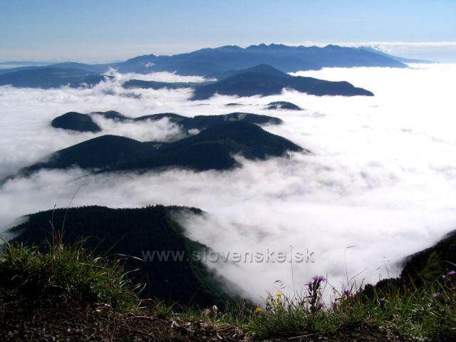 Vysoké Tatry jako na dlani......