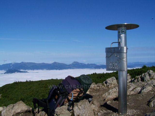 jednoznačně další krásné hory - Velký Rozsutec a Stoh../pohled z Velkého Choče.../