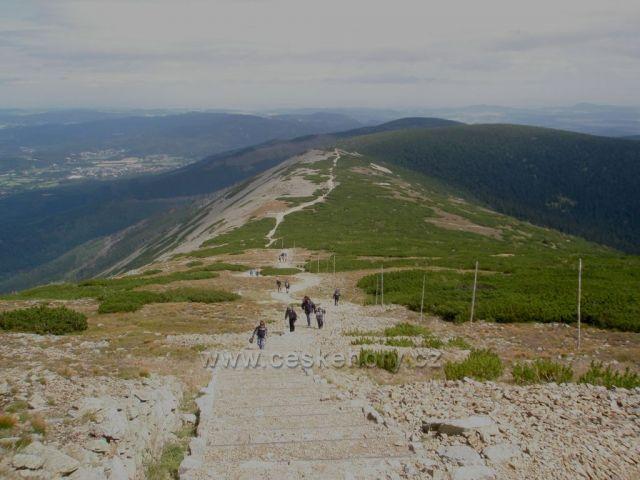 Cesta na Sněžku přes Svorovou horu