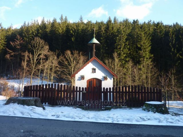 Beskydy - kaplička na Horní Bečvě