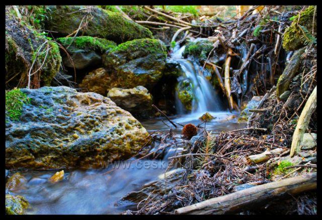 Vodopád v Jeseníkách