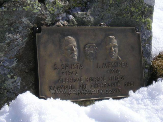Památky obětem Krkonoš