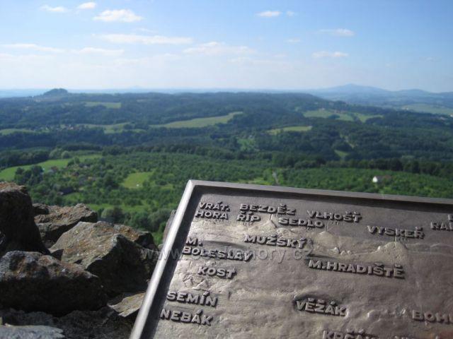 Výhled z Trosek