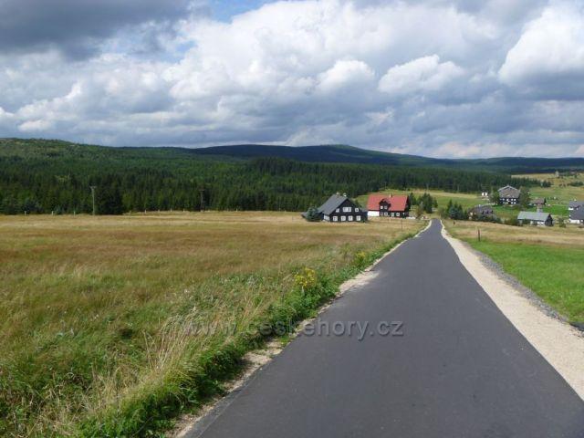 Jizerské hory- cestou ze Smědavy na Kneipu