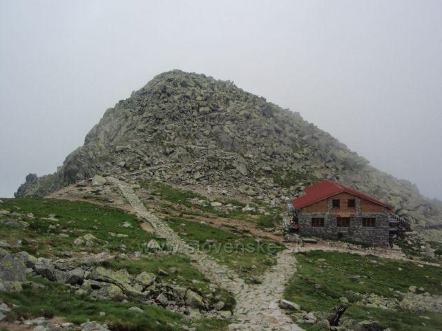 Kamenná chata pod Chopokom (2000 m.n.m)