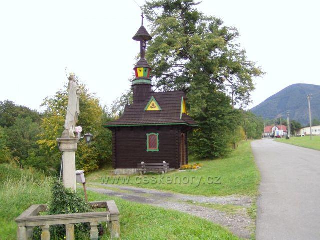 Kaplička-obec Bystré