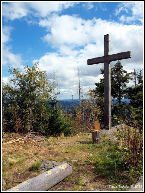 Šumava - vrchol Siebensteinkopf